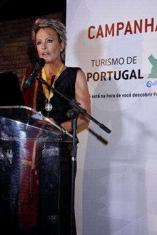 Portugal Ana Maria Braga get the award of Medal Merito Turistico Silver in 2010.jpg