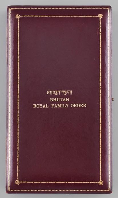 Bhutan Royal Order of Bhutan case of issue 1st Class.jpg
