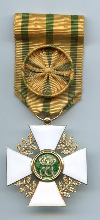 Luxembourg Order of Oak Crown Officer by Lasne of Paris 1891-1905.jpg