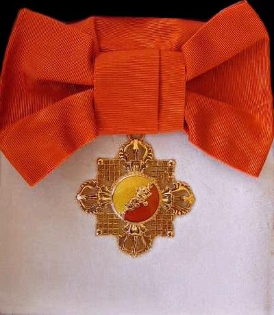 Bhutan Druk Wangyel sash badge.jpg