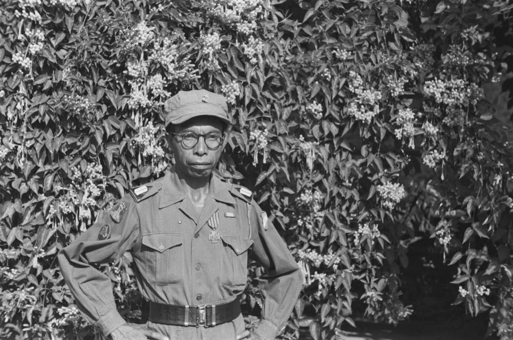 Bronzen Leeuw aan de Timorees sergeant Frans Timotheus.jpg