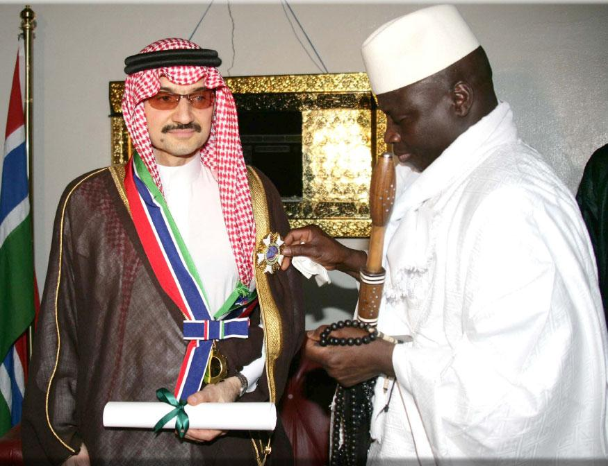Gambia Order of the Republic Grand Officer 2005.jpg