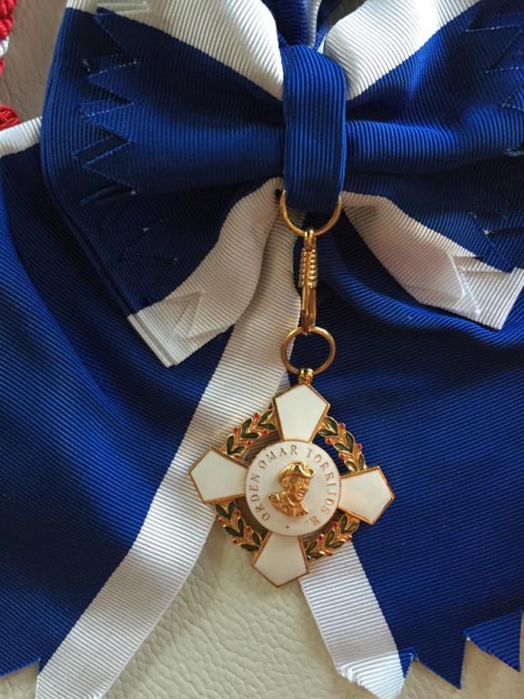 Panama Order Omar Torrijos sash badge.jpg