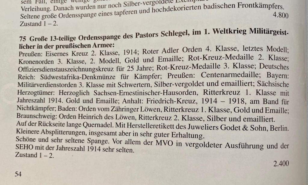 13er Ordensschnalle Pastor Schlegel Beschreibung Art. 75.jpg
