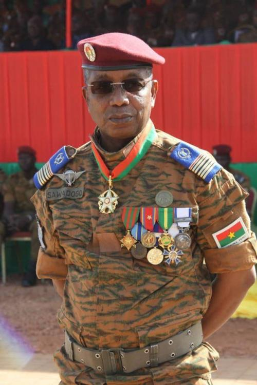 Burkina Faso Colonel Major Sawadogo Oumarou.jpg
