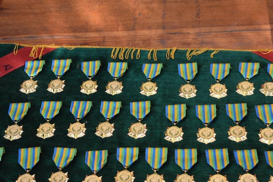 Burkina Faso Medaille d'Honneur des Eaux et Foret pour distribution 25 Dec 2019.jpg