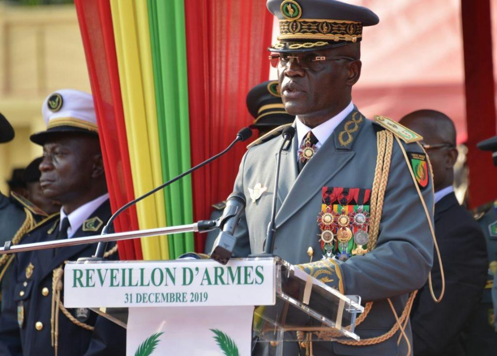 Congo Brazzaville General Guy Blanchard Okoi Chief Of Staff Photo 2 Order Medal.jpg