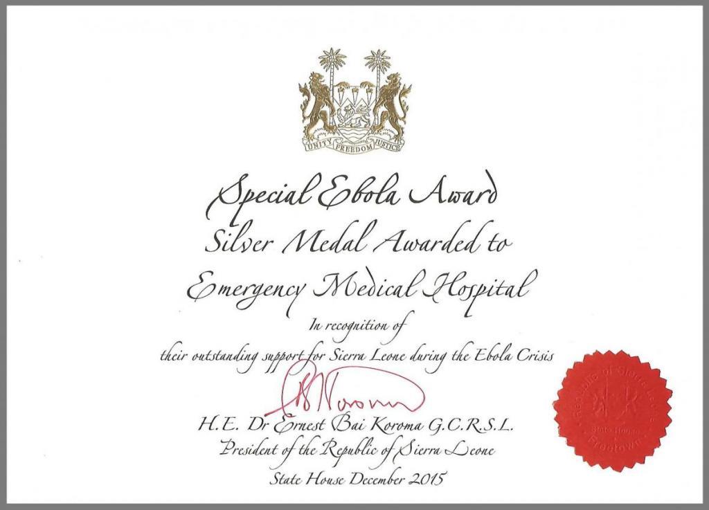 Sierra Leone Special Ebola Award Medal Award-attestation-1-e1452620396675.jpg