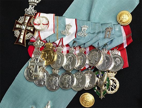Denmark Medal Bar of Prince Frederik.jpg