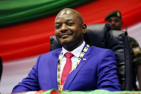Burundi President Pierre Nkurunziza with Collar Order.jpg
