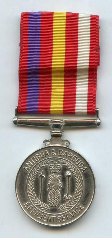Antigua & Barbuda Efficient Service Medal obverse.jpg
