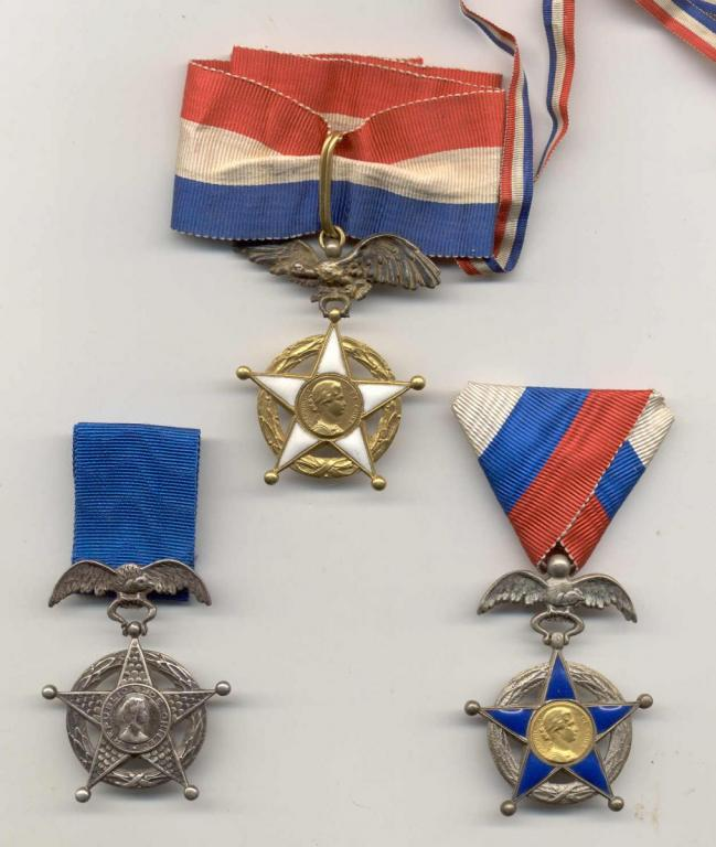 Chile Order of Merit 1st type 3 classes obverse.jpg