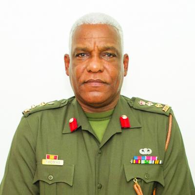 Antigua & Barbuda Colonel Sir Trevor Thomas.png