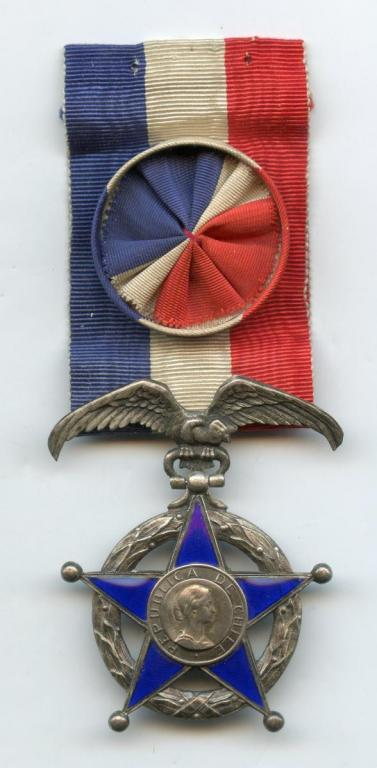 Chile Order of Merit 2nd Type Officer obverse.jpg