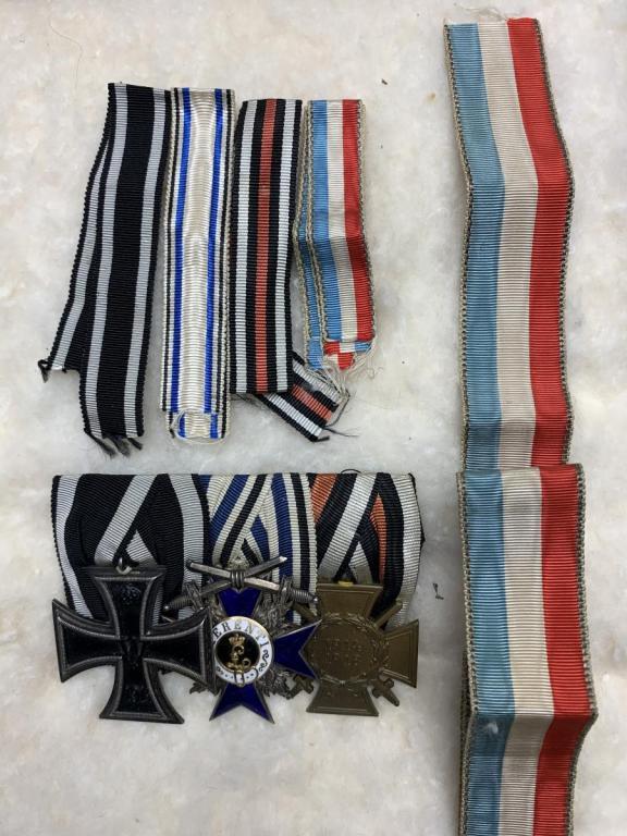 Kiessler medal bar and ribbons1.jpeg