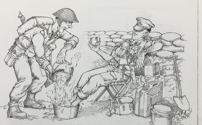 Tea and the British Officer.JPG