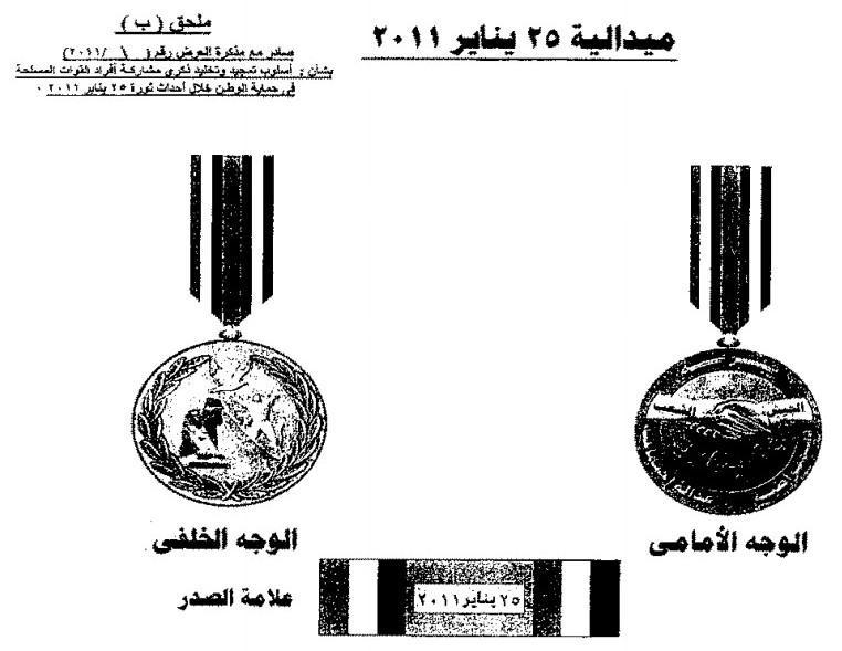 Egypt 25 January 2011 Medal.jpg