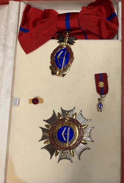 Swaziland Order Sobhuza II Chief Counselor Grand Cross.JPG