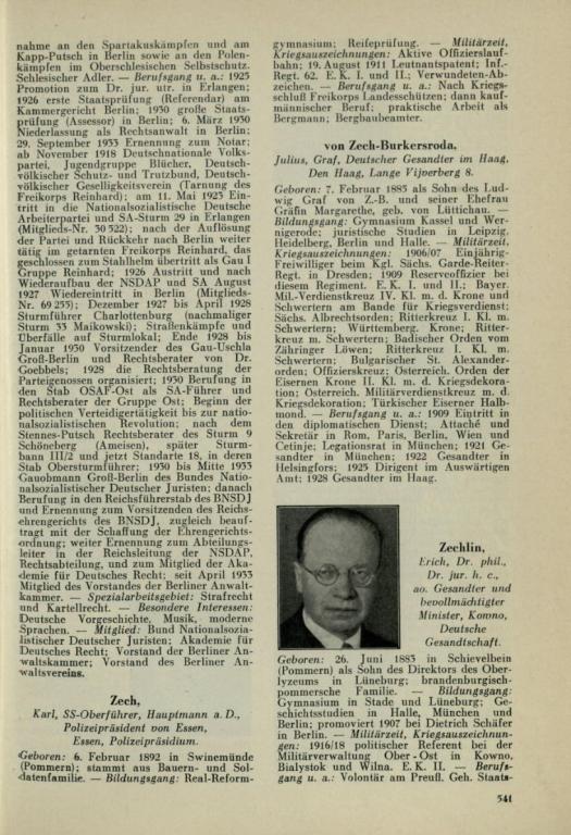 Julius Graf von Zech-Burkersroda, Führerlexikon.jpg