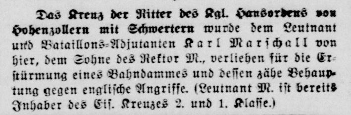 Marschall, Karl (Solinger Zeitung 29.05.1918).JPG