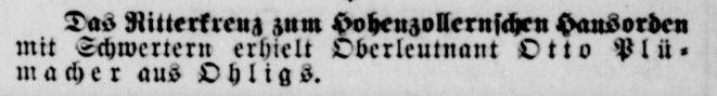 Plumacher, Otto (Solinger Zeitung 05.08.1918).JPG
