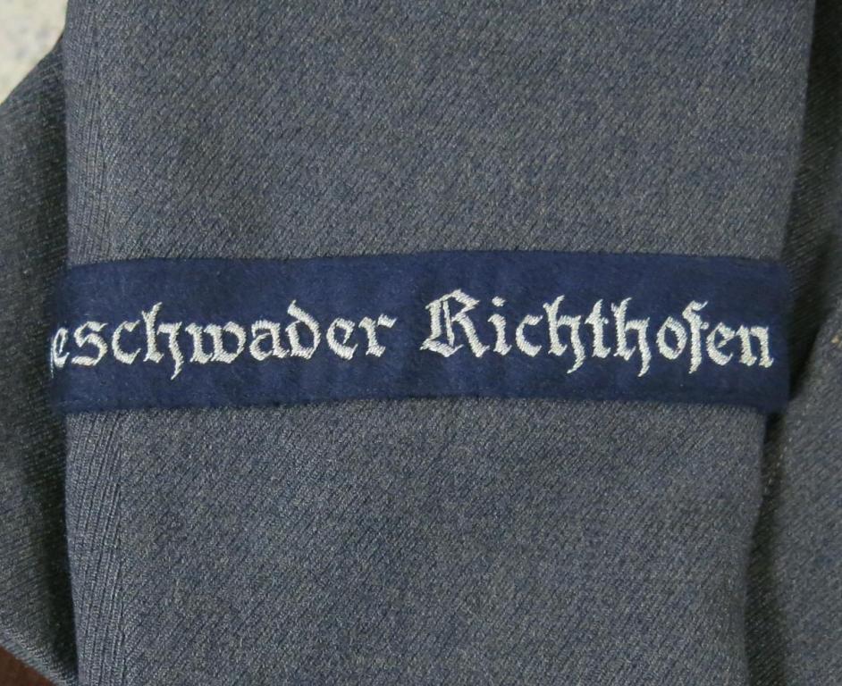 Leutnant JG 2 Richthofen Fliegerbluse 005.JPG