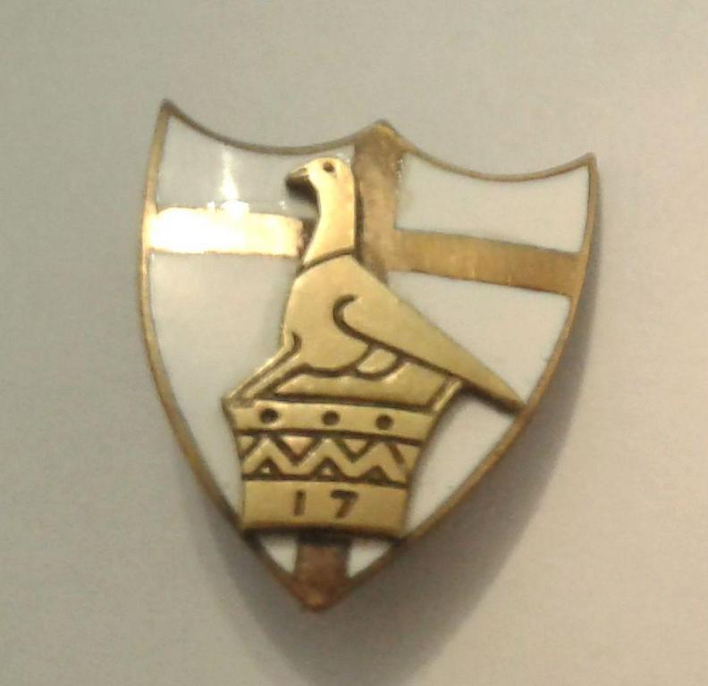 WW2 Southern Rhodesian 3 17 Field Battery Artillery Officer's Mess Dress Badge.jpg