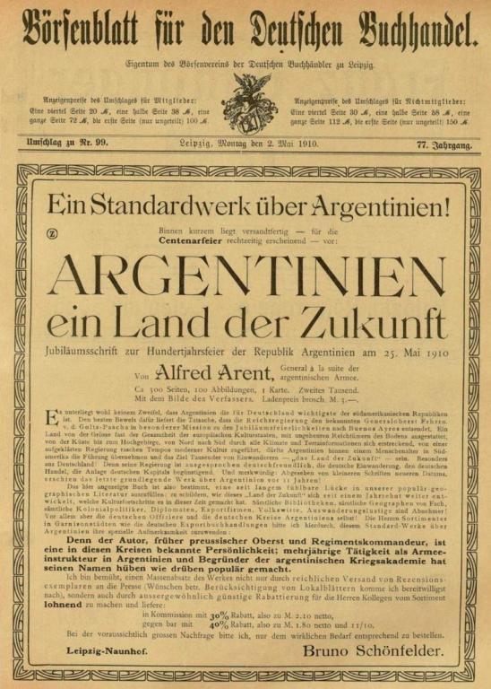 Argentinien, ein Land der Zukunft, Alfred Arent.jpg